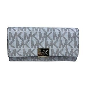 Michael Kors Mindy Carryall Leather Wallet NWT
